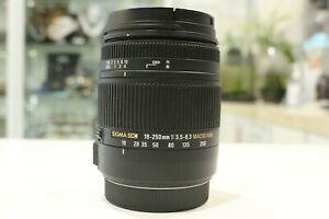 SIGMA 18-250mm f/3.5-6.3 HSM AF Lens for CANON EF-S mount