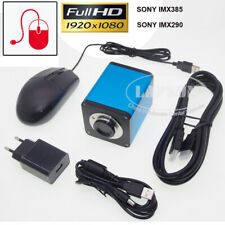 1080P 60FPS HDMI Industry C-Mount Microscope Camera Sony Chip Measurement IMX185