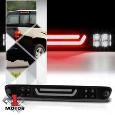 Black Smoke LED Bar Rear Third [3rd] Brake Light Cargo for 04-12 Colorado/Canyon