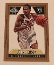 2012-13 Innovation John Henson RC #'d 8/10 GOLD Rookie View Bucks UNC Tarheels