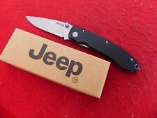 Jeep new in box liner lock aluminum knife ld