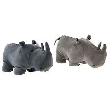 Rhino Doorstop Stop Stopper Heavy Filled Animal Home Door Stop Wedge Assorted