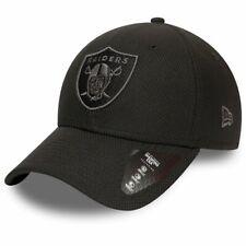 New Era 39Thirty Diamond Cap - Oakland Raiders schwarz