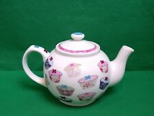 More details for queens floral cupcakes teapot