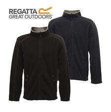 Regatta Mens Full Zip Fleece Jacket Work Outdoors Hiking Warm Coat