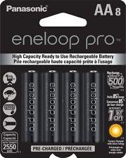 8 Eneloop PRO Rechargeable AA Batteries