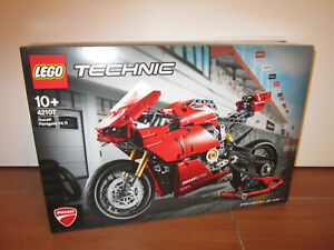 LEGO TECHNIC 42107 DUCATI PANIGAL V4 R NEUF NEW SEALED