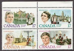 Unitrade #879i (a) error - Canada - 17c - Feminists - 1981 - MNH VF - cv$7.50