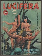 LUCIFERA 2a serie N.1 UNA DIABOLICA TENTATRICE 1992 revised harder edition II a