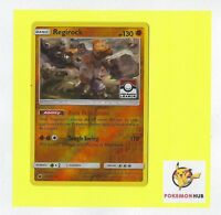 Pokemon Card Rev Holo Regirock 53/111 League Promo