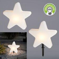 Garten Lampe Stern Leuchtstern 50cm Erdspiess IP65 Bodenlampe Indoor Outdoor