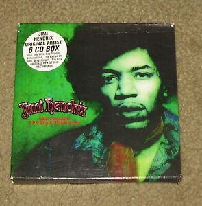 Jimi Hendrix The Complete PPX Studio Recordings CD Box Set (2000, 6 Discs, SPV)