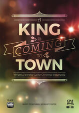 A King Is Coming To Town A Family Worship Center Swaggart Christmas CD&DVD