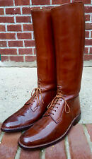 John Lobb Field Boot Navvy Cut Style Boots Vintage 1965 size 12 D US