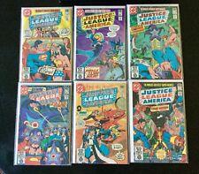 DC Justice League Of America Comic Book Lot