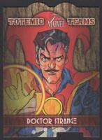 2019 Flair Marvel Totemic Teams #TT19 Doctor Strange