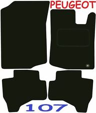 Peugeot 107 DELUXE QUALITY Tailored mats 2005 2006 2007 2008 2009 2010 2011 2012