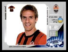 Panini Champions League 2012-2013 Marco Devi? FC Shakhtar Donetsk No. 332