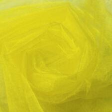 500*48CM Organza Sheer Organza Fabric For Wedding Birthdays Backdrop Decoration