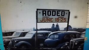 8mm Home Movie 150 Ft 1940's Kent & Tacoma WA Rodeo Auto's Color & B&W
