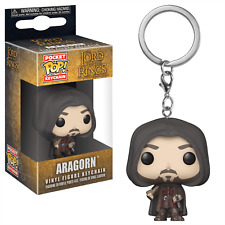 Aragorn Lord of the Rings Keyring Official Funko Pocket Pop Keychain