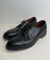 Allen Edmonds Burton  Mens Lace Up Dress Shoes Size 10.5 D Black Leather Oxford
