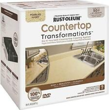 Rust-Oleum Countertop Transformations Kit, Pebbled Ivory 258529 LARGE Kit 50 Sq.