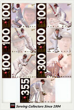1998/99 Select Cricket Retail Trading Cards Record Breaker Full Set Of 7-Rare