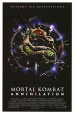 MORTAL KOMBAT ANNIHILATION MOVIE POSTER ORIGINAL 27x41
