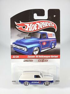Hot Wheels Custom 1969 VW Volkswagen Variant Koni Delivery Detail Car w/ RRs NEW