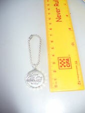 COCA-COLA COKE KEY RING keyring BOTTLE TOP SILVER NEW
