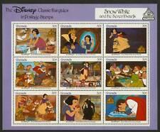 Grenada 1540 imperf Selvedge MNH Disney, Snow White & 7 Dwarfs, Birds