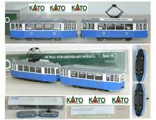 KATO 14610 DOPPIA TRAM URBANI MOTORIZZATA DÜWAG Straßenbahn AZUR in OVP SCALA-N