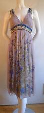 Blank London Silk Chiffon Empire dress