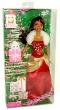"2010 Holiday Wishes Christmas Barbie 11"" African-American Fashion Doll NRFB!"