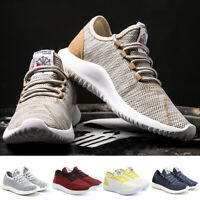 Mens Womens Gym Sports Shoes Running Trainers Lace Up Casual Pumps Sneakers UK