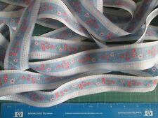 Bertie/'s Bows cinta de cinta de espiga de algodón-Tonos Verdes 10 15 25 y 40mm