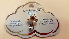 'For A Beautiful Baby' Cloud Angel Pin