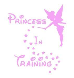 DISNEY Princess in Training Vinyl / Sticker / Bottle / Tablet / Laptop / Decal