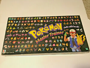 Hasbro Pokemon Master Trainer Board Game (1999) Complete Minus Instructions