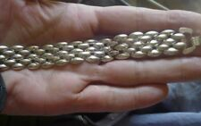 Vintage German Eloxal Chrome Bracelet- stunning