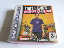 Tony Hawk's American Skateland NINTENDO GAMEBOY ADVANCE SP / DS / GBA GAME