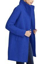 J.Crew Stadium-Cloth Cocoon Coat - Deep Violet Blue -  size  2