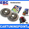 EBC B01 Brake Kit Front Pads Discs for Volvo 760 704, 765 DP435 D284