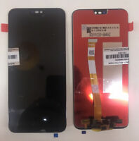 VETRO DISPLAY SCERMO LCD TOUCH SCREEN PER HUAWEI P20 LITE NERO ANE-LX1 GLS 24H