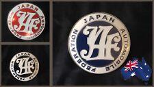 JAF Badge / Emblem - JDM Old School - Japan Automotive Federation.