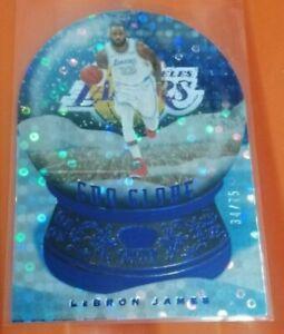 Lebron James - Crown Royale - Sno Globe (BLUE) LE 34/75