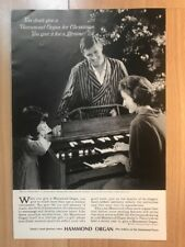 Hammond Organ 1965 Advertisement Pub Ad Werbung