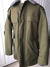 Vintage Czech Otavan Trebon khaki military style parka jacket