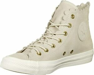 Scarpe da ginnastica beige Chuck Taylor All Star per donna ...